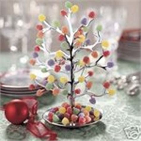 plastic gumdrop trees new chrome metal silver gumdrop gum drop tree nib 12 04 2006