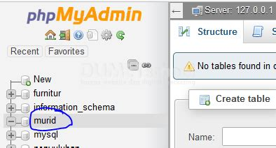 cara membuat web database mysql cara membuat koneksi database mysql dengan php procedural