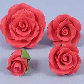 Handmade Sugar Roses - box of handmade sugar roses in bright pink