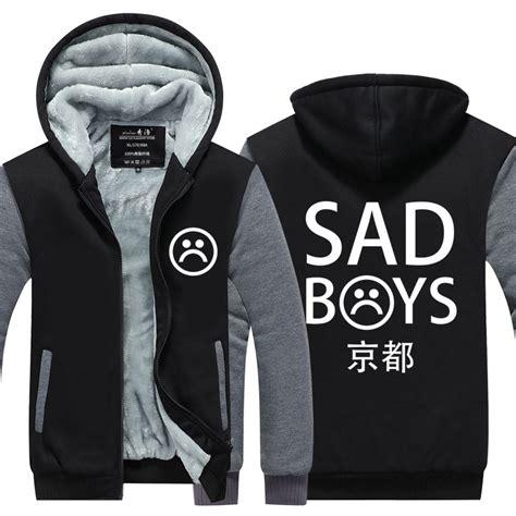 Jaket Sweater Zipper Hoodie Martin Garix popular sad boys hoodie buy cheap sad boys hoodie lots