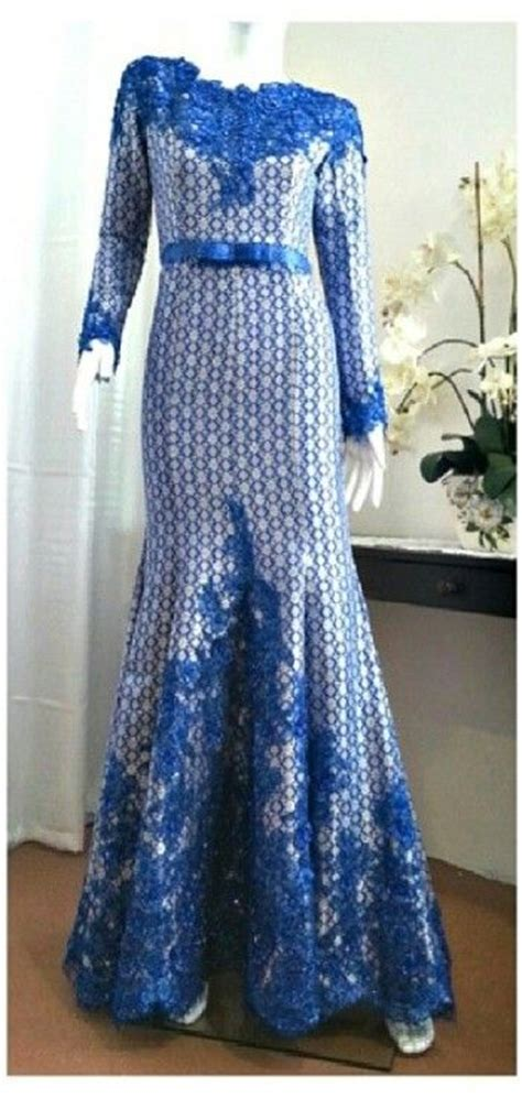 Maxi Denim Songket 110 best images about pengantin melayu songket on wedding niqab and brides