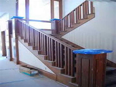 how to install a banister how to repairs step how to install stair railing how