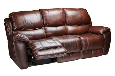 leather reclining sofa crosby leather reclining sofa at gardner white