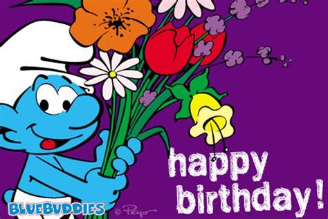 Papa Smurf Birthday Card