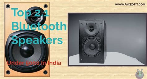 best 2 1 bluetooth speakers in india 5000 from f d