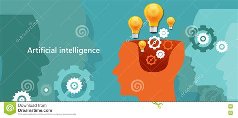 ai dreams stories essays about artificial intelligence reality and our digital future books human brain communication and intelligence stock photo