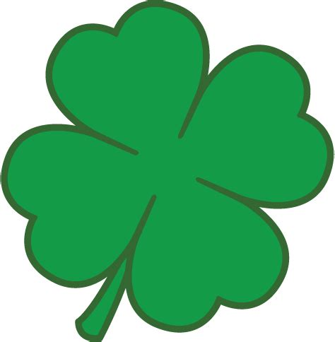 four leaf clover template 4 leaf clover template st patricks day