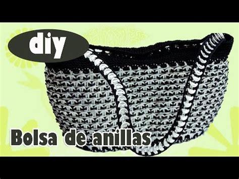 como elaborar bolsas con fichas como hacer una bolsa con anillas de lata bolsa
