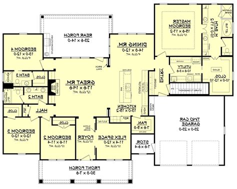 4 Bdrm House Plans 100 4 bdrm house plans house plans brilliant