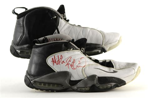 nike basketball shoes 1998 lot detail 1998 mitch richmond sacramento signed
