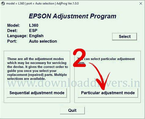 resetter l360 epson download epson l360 resetter program software tool l130