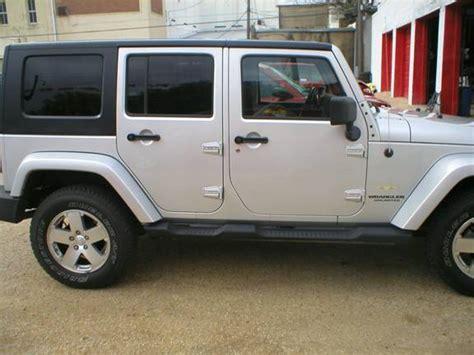 jeep wrangler 4 door silver denison car dealer sherman tx denison used cars fred
