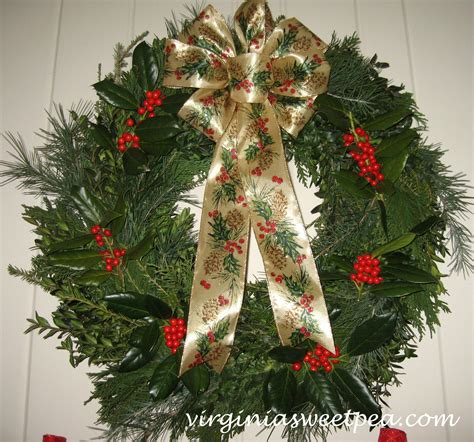 six christmas wreaths to inspire sweet pea