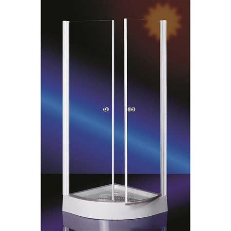 cabina doccia semicircolare box doccia 80x80 o 90x90 semicircolare con ante battenti
