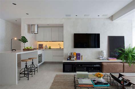 apartamentos decorados mrv planta do meio apartamento pequeno cimento queimado e tijolinho