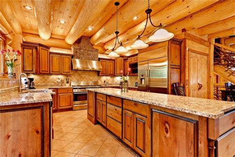 log home kitchen ideas 2018 layouts log cabin kitchens images rustickitchen