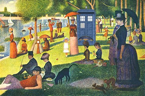 georges seurat most famous paintings tardis v georges seurat painting by gp abrajano