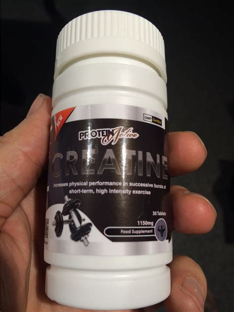 supplement junkie protein active creatine tablets review testosterone