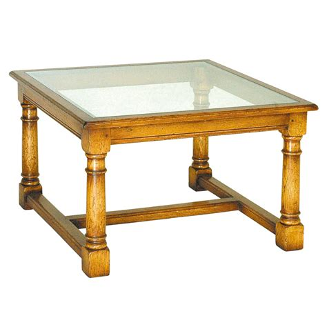 Glass Top Oak Coffee Table Oak Coffee Table With Glass Top Titchmarsh Goodwin