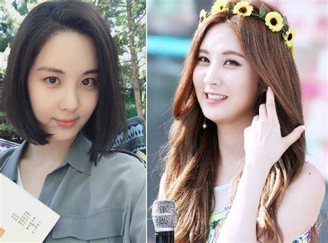 model rambut k pop penilan baru 8 idol k pop setelah ikut trend rambut pendek