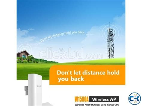 Wifi Tenda Outdoor tenda w1500a wireless n150 outdoor range cpe clickbd