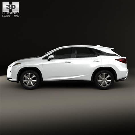 lexus models 2016 lexus rx 350 2016 3d model hum3d
