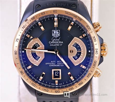 Tagheuer Grand Cal 36 Black Rosegold Combi tag heuer grand calibre 36 gold price in