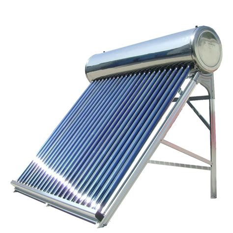 China CE Non Pressurized Stainless Steel Solar Hot Water for Family Use Photos & Pictures   made