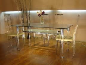 Glass Dining Room Tables And Chairs by Glass Dining Room Table And 6 Chairs Home Design Ideas