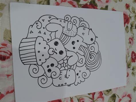 doodle ilham aizara artz seni doodle yang menyeronokkan