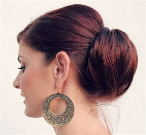 poof hairstyles poof chignon hairstyle for prom styles weekly