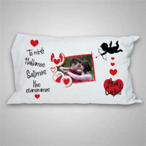 almohadas personalizadas con fotos almohadas personalizadas san valent 237 n enamorados s