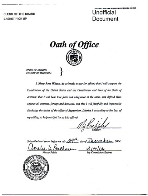 oath of office template related keywords suggestions for oath of office
