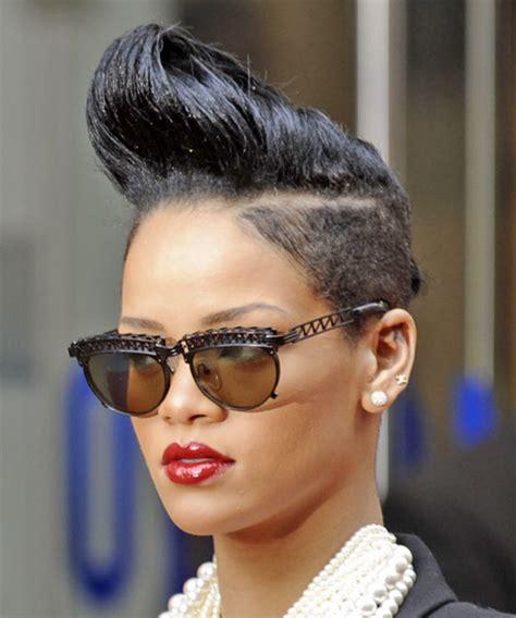 how to do rihanna hairstyles rihanna short straight alternative undercut hairstyle black