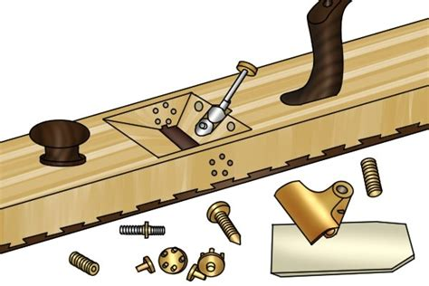 wooden bench plane how to set up a wooden bench plane