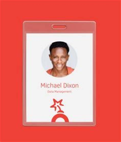 Gimmick Id Card Templates 32 best images about employee badge on cards