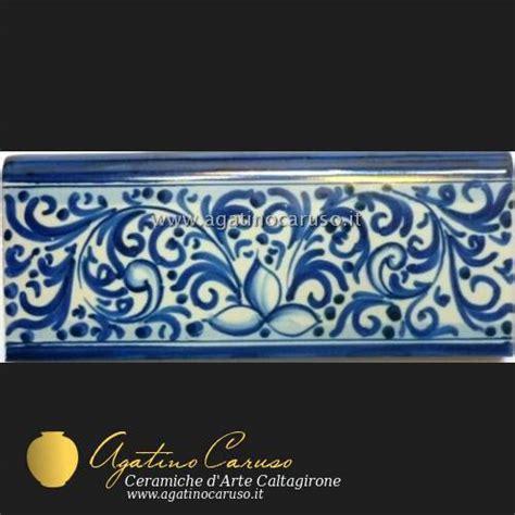 ceramica caltagirone piastrelle fasce battiscopa alzate piastrelle in ceramica di