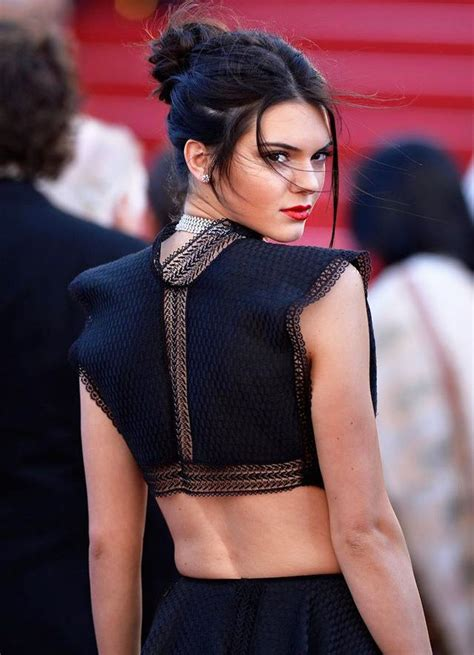 Kendall Jenner?s Hairstyle: Buns   Hair World Magazine