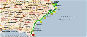 map of virginia carolina and south carolina map of and south carolina coast map