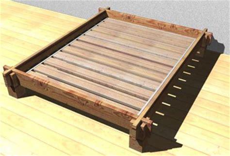 Futon Lattenrost by Bauanleitung Futon Das Japanische Massivholzbett Werkteil
