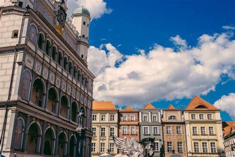 stop  poland poznans main square