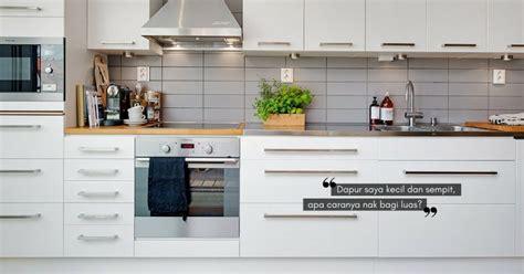 Per Meter Kabinet Dapur 8 Helah Bijak Agar Ruang Dapur Yang Kecil Kelihatan Lebih