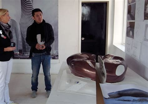 designboom editor mad architects studio visit fish tank