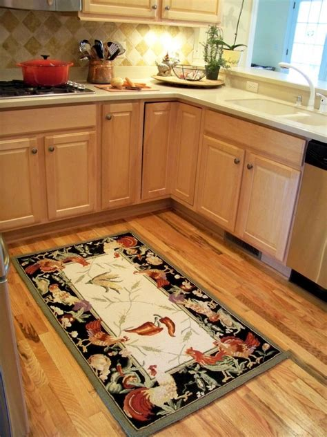 rooster kitchen rugs rooster kitchen rugs creating a country kitchen nuance