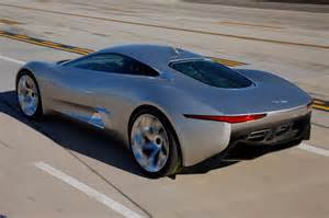 Jaguar C X75 Prototype Jaguar C X75 Concept Rear Side View Photo 3