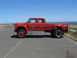 Ford F600 Ford F100 F250 F350 Buyers Take Note F600 Factory Built