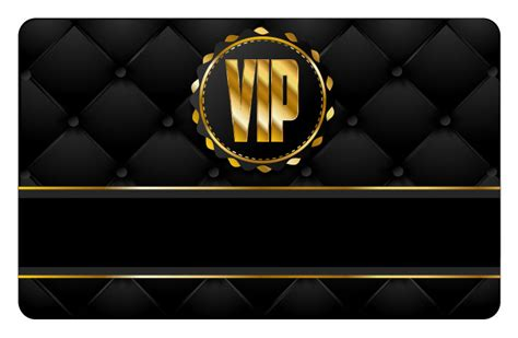 vip card template vip card template vector 1 vector sources