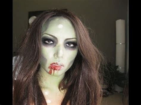 simple zombie makeup tutorial zooooooombie make up tutorial youtube