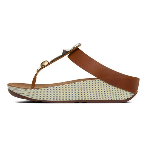 toe sandals fitflop jeweley s toe post sandals with jewels in