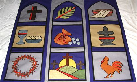 Wedding Banner Patterns For Church by Lent Banners Kit Tossmann Designs
